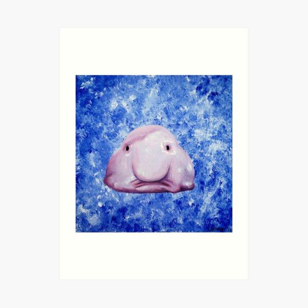 Blobfish Art Print