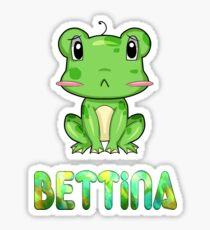Frosch Bettina Sticker