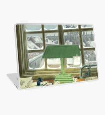 Winter in Haarlem - Anton Pieck Homage Laptop Skin