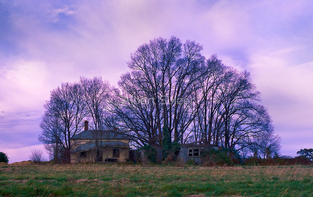 Deserted Farm house by Albert Sulzer