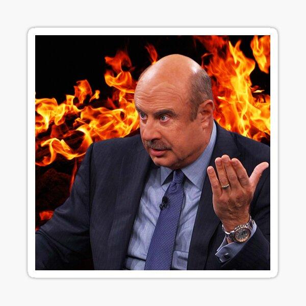 Dr. Phil's Wrath Sticker