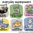 everyday superpowers by WrongHands