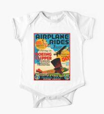 INMAN BROS : Vintage Flying Circus Airplane Advertising Print Kids Clothes