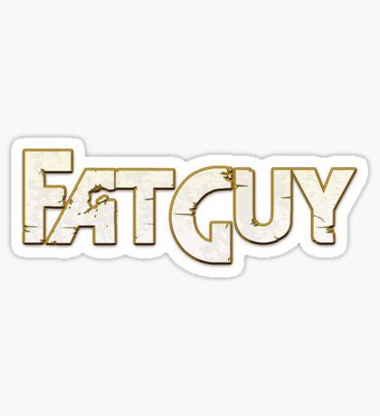 FatGuy Sticker