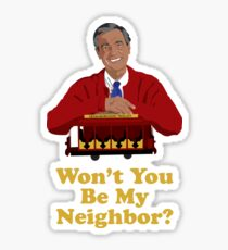 Mr Rogers - Won't You Be My Neighbor? Sticker