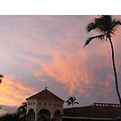 Sunset in Grand Bahia Principe Resort, Playa de Arena Gorda, Dominican Republic by znamenski