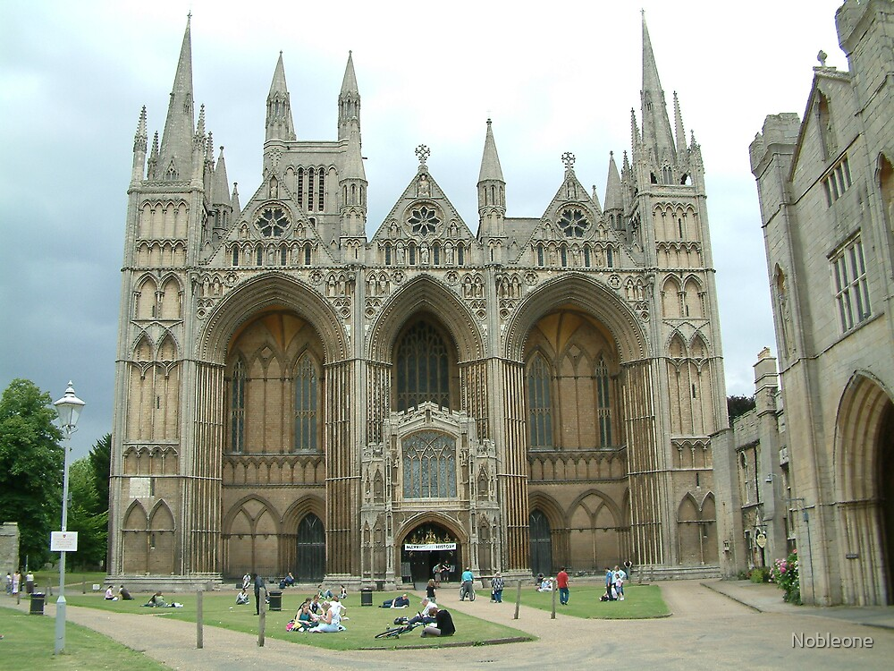 Peterborough Cathedral by Nobleone