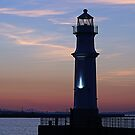 Newhaven Lighthouse, Edinburgh by Stuart Robertson Reynolds