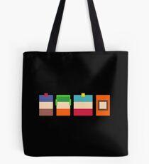 South Park Boys Pixel Art Tote Bag