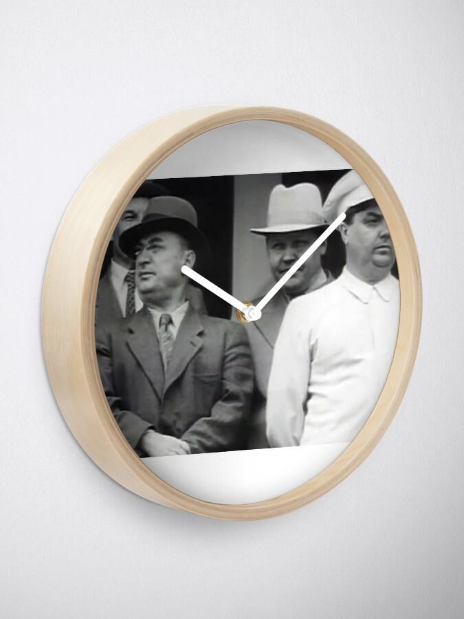 Alternate view of Лаврентий Берия, Николай Вознесенский и Георгий Маленков Clock