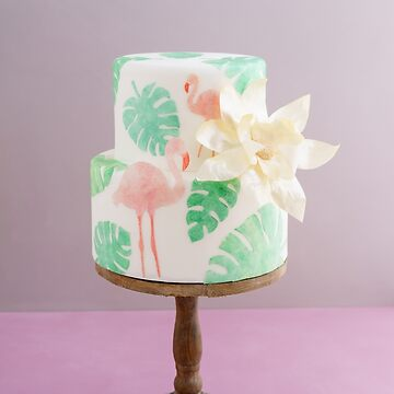 Tropical wedding cake by ECoelfen