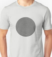 runden Slim Fit T-Shirt