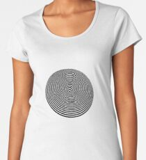 round Women's Premium T-Shirt