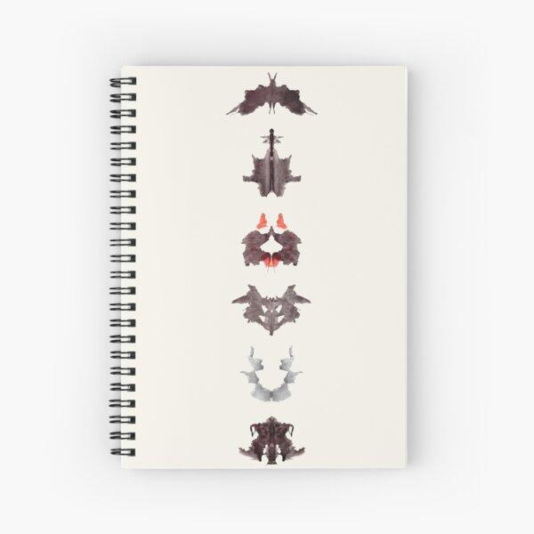the rosrach psycho test Spiral Notebook