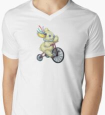 Pooky Triking Men's V-Neck T-Shirt