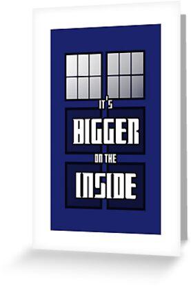 It's Bigger on the Inside by Benjamin Nunn
