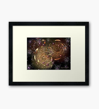 The Cacophony of Being Otherwise Engaged Framed Print