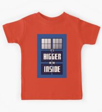 It's Bigger on the Inside Kids Clothes