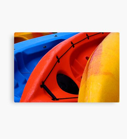 Primary Colours Canvas Print