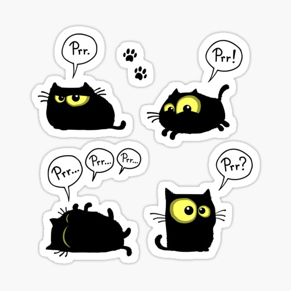 Prr prr prr Sticker