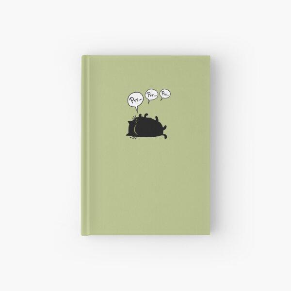 Prr prr prr Hardcover Journal