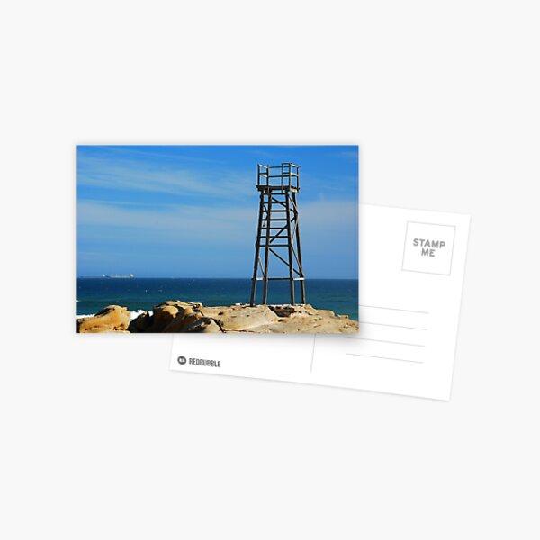 Shark Tower - Redhead Beach NSW Postcard