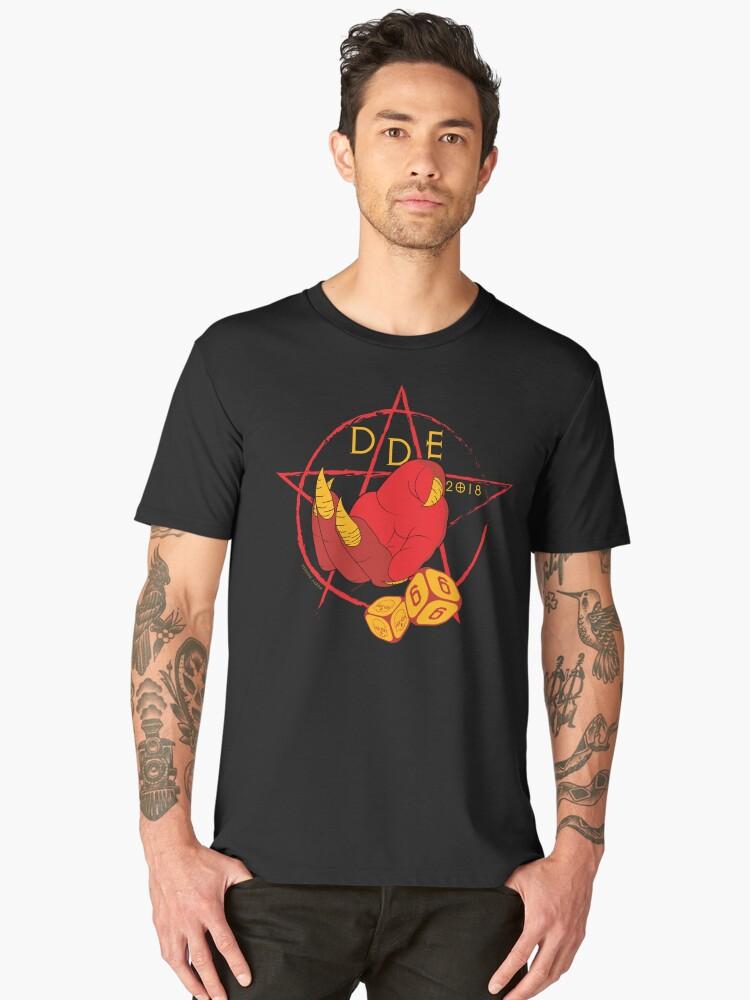 DDE 666 Men's Premium T-Shirt Front