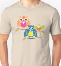 owls branch T-shirt  Unisex T-Shirt