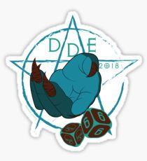 DDE666 Sticker Sticker