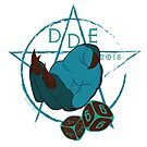 DDE666 Sticker by Defy Danger