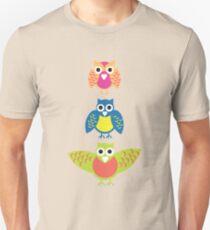 3 wise owls Unisex T-Shirt