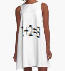 Arithmetic A-Line Dress