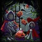 Halloween Spooky PixelArt by AndromedaINDIE