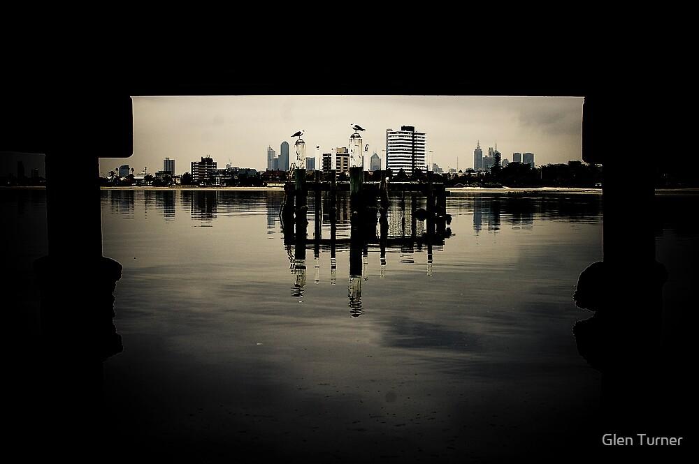 View under Pier by Glen Turner