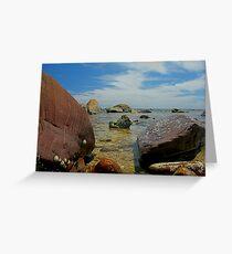 Hallett Cove Beach Greeting Card