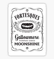 Pumpkin Gorge Moonshine Sticker