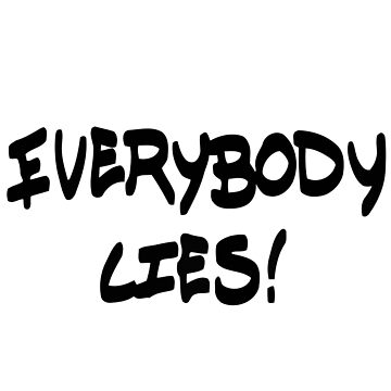Life is Strange: Before the Storm - Everybody Lies Sticker by scolecite