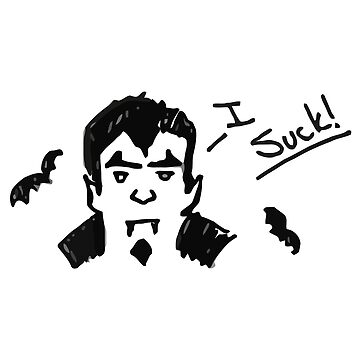 Life is Strange: Before the Storm - I Suck Dracula Sticker by scolecite