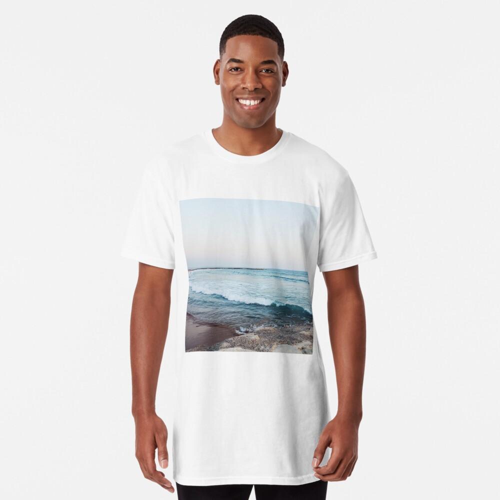Ruhige Meereswellen Longshirt