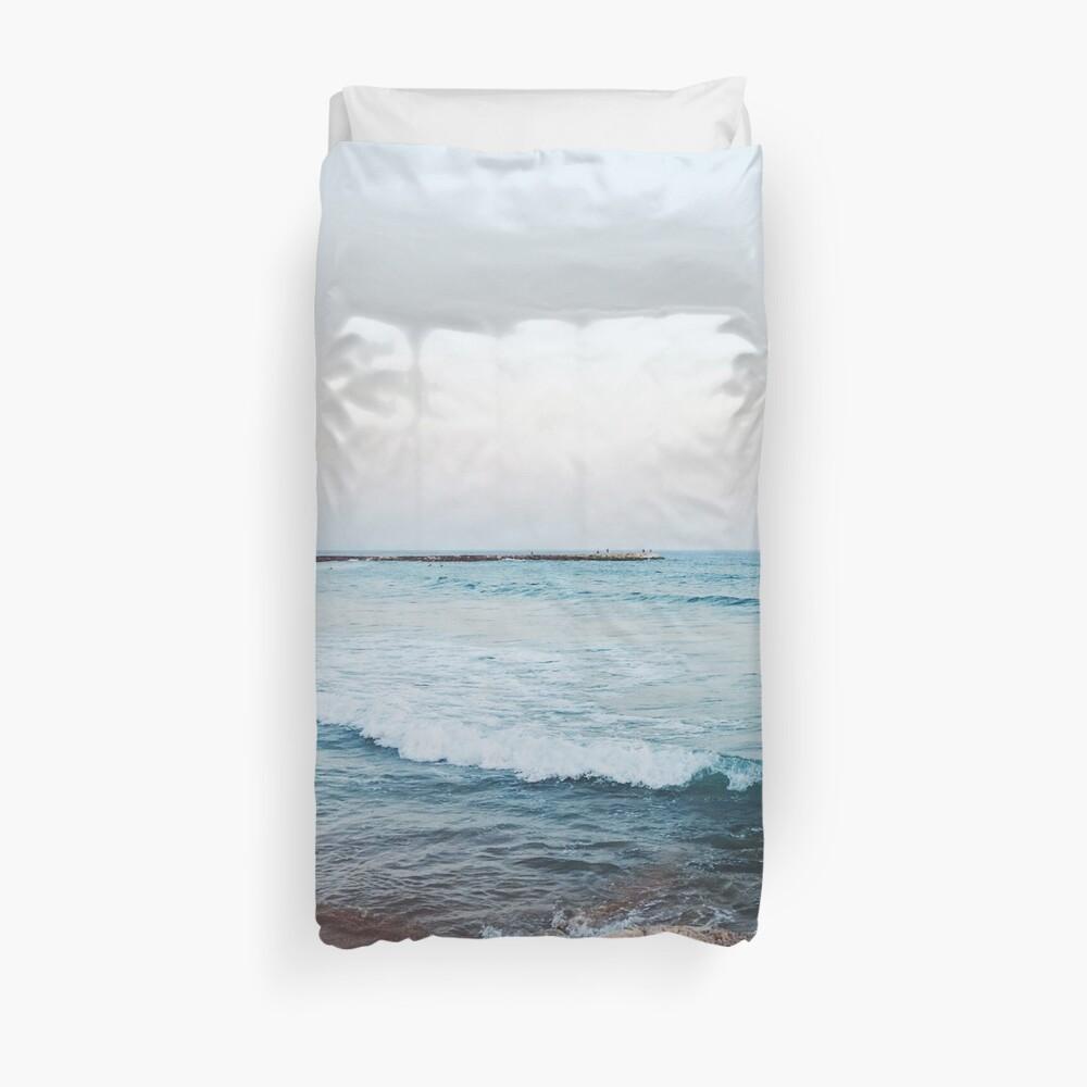 Calm ocean waves Duvet Cover