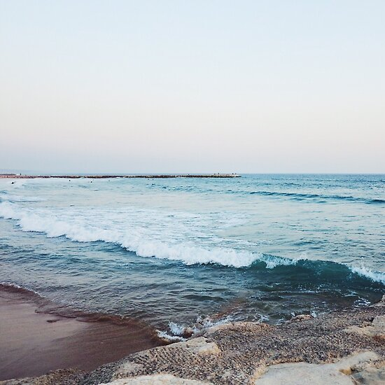 Ruhige Meereswellen von AlexandraStr