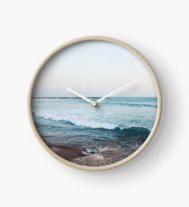 Ruhige Meereswellen Uhr