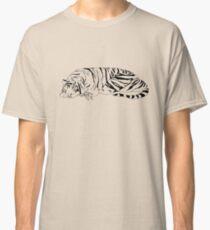 Hobbes and Calvin B&W Classic T-Shirt