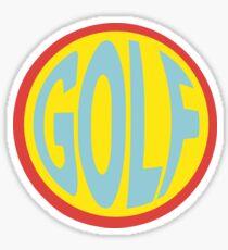 Golf - FishEye  Sticker