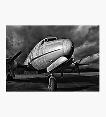 Air Force - B&W Photographic Print