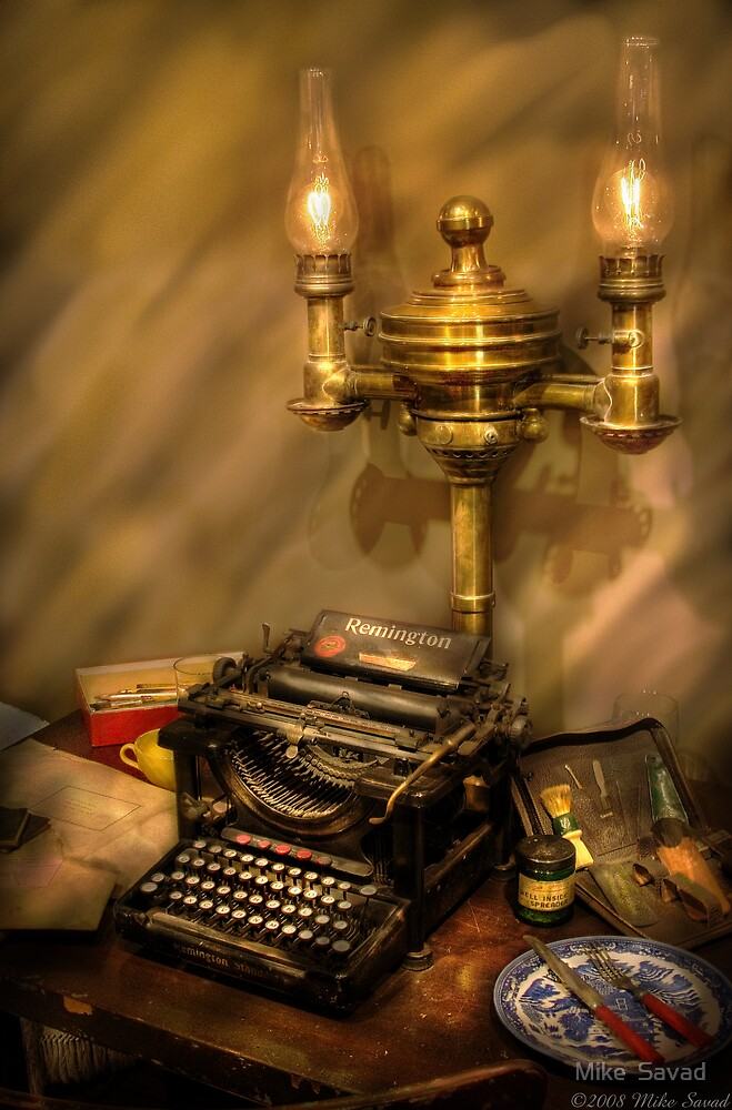 Remington Typewriter by Michael Savad