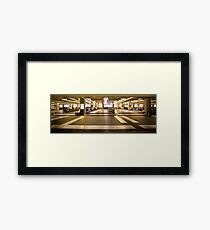The Terminal Framed Print