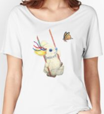 Pooky Swinging with a Butterfly Women's Relaxed Fit T-Shirt