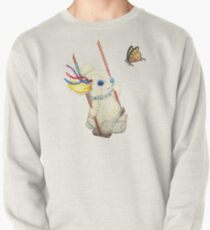 Pooky Swinging with a Butterfly Pullover
