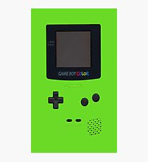 Nintendo Game Boy Color Photographic Print